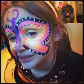 Full face butterfly
