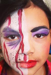 Half Zombie/Half Glam